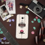 Becool® - Fundas Gel Cupcake Dulce Color Rosa Para Htc One X10