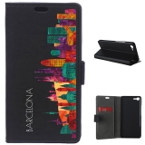 German Tech® - Funda Libro Skyline Barcelona Para Meizu E2