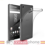 Producto Original Donkeyphone® - Funda Gel Transparente Para Xperia E5 Silicona Ultra Thin - Ultra Fina 0,33 Mm