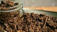 Postres con chocolate negro