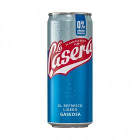 Gaseosa La Casera cero calorías lata 33 cl.
