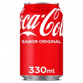 Refresco de cola Coca Cola lata 33 cl.