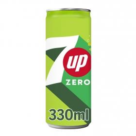 Refresco de lima-limón 7UP con gas lata 33 cl.