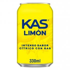 Refresco de limón con gas Kas 33 cl.