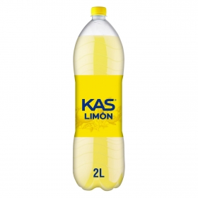 Refresco de limón Kas con gas botella 2 l.