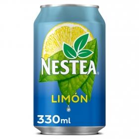 Refresco de té Nestea sabor limón lata 33 cl.