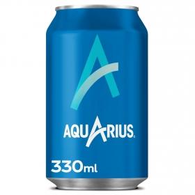 Bebida Isotónica Aquarius sabor limón lata 33 cl.