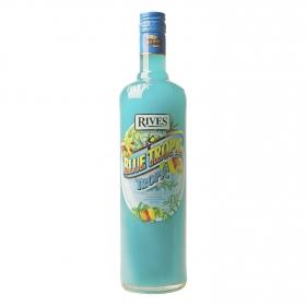 Concentrado de frutas Rives Blue Tropic 1 l.