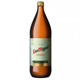 Cerveza San Miguel Tradición botella 1 l.