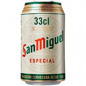 Cerveza San Miguel especial Lager lata 33 cl.
