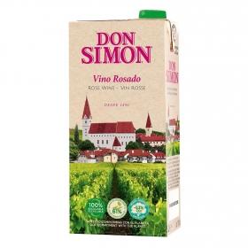 Vino rosado de mesa Don Simón brik 1 l.