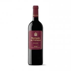 Vino D.O. Rioja tinto crianza Marqués de Cáceres 75 cl.