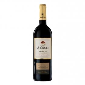 Vino D.O. Valdepeñas tinto reserva Viña Albali 75 cl.