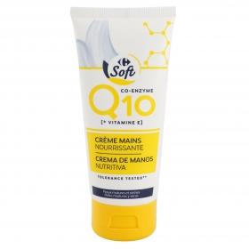 Crema de manos antiedad Q10 Carrefour 100 ml.