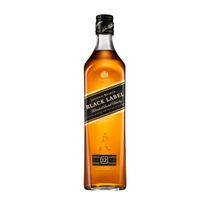 Whisky Johnnie Walker Black Label escocés 12 años 70 cl.