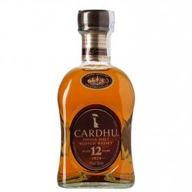 Pack whisky Cardhu Malta 12 años (Botella 70 cl + 2 vasos) 1 ud.