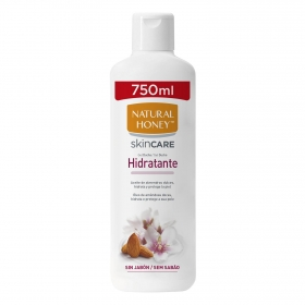 Gel de ducha hidratante Natural Honey 750 ml.