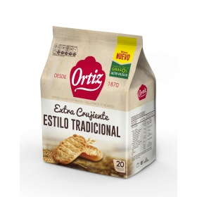 Panecillos tostados clásicos Ortiz 225 g.