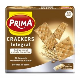 Crackers integrales Prima paquete de 500 g.