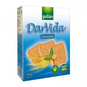 Galleta de cereales Darvida Gullón 750 g.