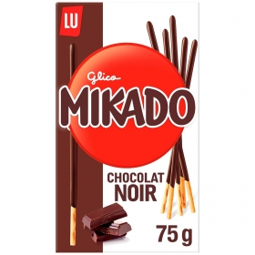 Palitos de chocolate Mikado Lu 75 g.