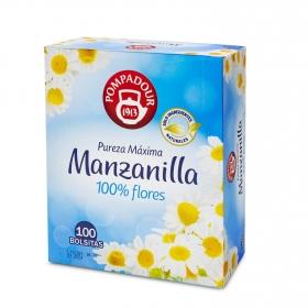 Manzanilla en bolsitas Pompadour 100 ud.