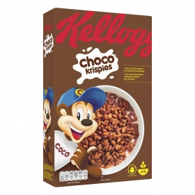 Cereales de arroz con chocolate Choco Krispies Kellogg's 450 g.