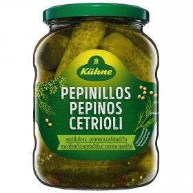 Pepinillos agridulces Kühne 370 g.