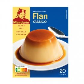 Flan clásico Mandarín 30 g.