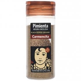 Pimienta negra molida Carmencita 225 g.