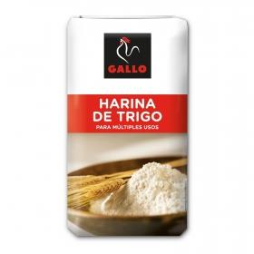 Harina de trigo Gallo 1 kg.