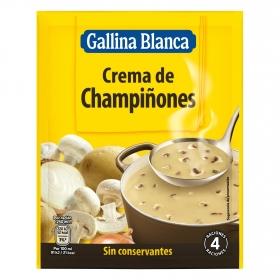 Crema de champiñones Gallina Blanca 62 g.