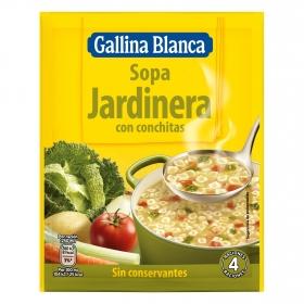 Sopa jardinera Gallina Blanca 71 g.
