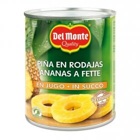 Piña en su jugo en rodajas Del Monte 510 g.