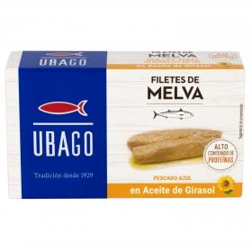 Filetes de melva en aceite de girasol Ubago 115 g.