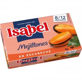 Mejillones en escabeche Isabel 115 g.