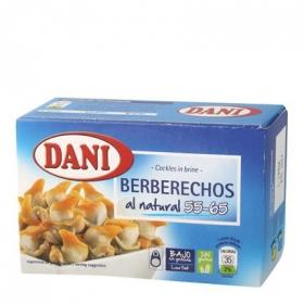 Berberechos al natural Dani 63 g.