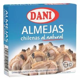 Almejas chilenas al natural Dani 138 g.
