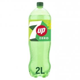 Refresco de lima-limón 7UP con gas botella 2 l.