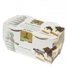Tiramisú Chef Dessert pack de 4 unidades de 80 g.