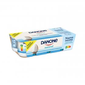 Yogur natural Danone pack de 8 unidades de 120 g.