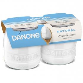 Yogur natural Danone Original pack de 2 unidades de 135 g.