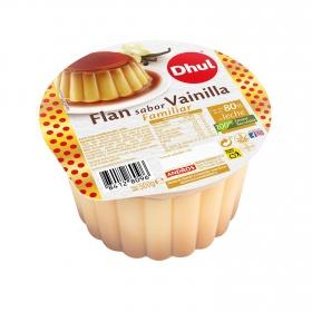 Flan de vainilla con caramelo Dhul 500 g.