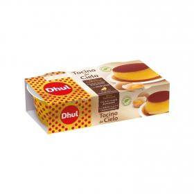 Tocino de cielo Dhul pack de 2 unidades de 100 g.