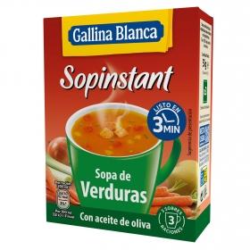 Sopa de verduras Gallina Blanca 51 g.