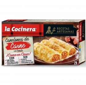 Canelones de carne La Cocinera 530 g.