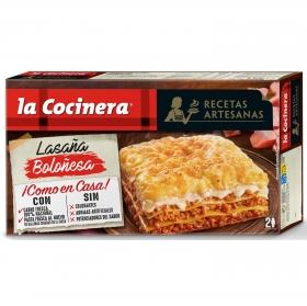 Lasaña Boloñesa La Cocinera 530 g.