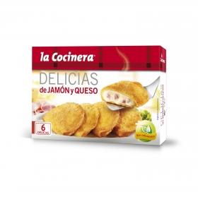 Delicias de jamón y queso La Cocinera 300 g.