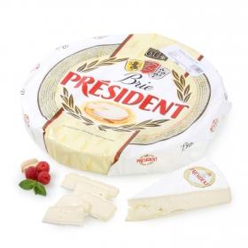 Queso brie 60% M.G. President al corte 150 g aprox