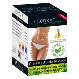Camilina de té verde ecológica Corpore Diet 60 ud.